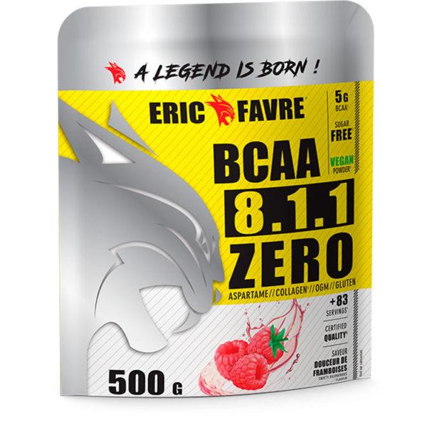 3 - protéine Tunisie - BCAA 8.1.1 ZERO 500 g –ERIC FAVRE