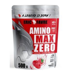 8 - protéine Tunisie - AMINO MAX ZERO 500 g-ERIC FAVRE