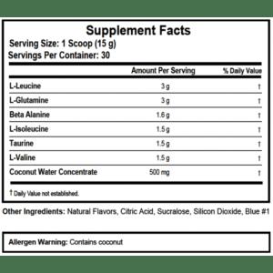 a - protéine Tunisie - BCAA 6K 240 caps -APPLIED NUTRITION