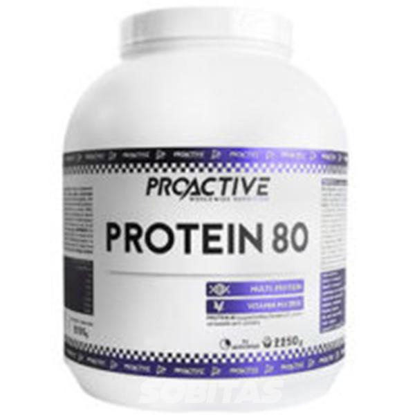 protein 80 - protéine Tunisie - PROTEIN 80 2250 g –PROACTIVE