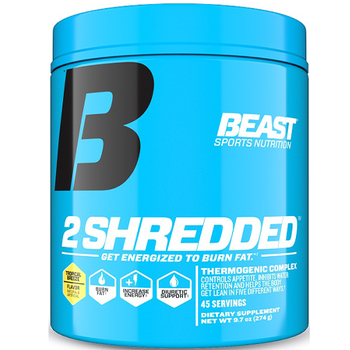 2 SHREDDED - protéine Tunisie - 2 SHREDDED  274 g -BEAST SPORTS NUTRITION