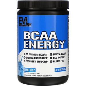 29 - protéine Tunisie - BCAA ENERGY, 282 g -EVLUTION NUTRITION