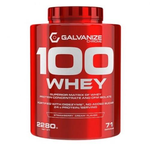 4 ok - protéine Tunisie - 100 WHEY 2.3 kg –GALVANIZE