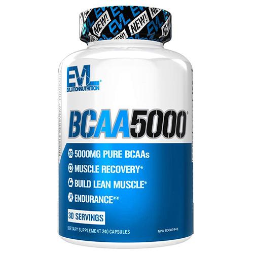 Bcaa 5000 - protéine Tunisie - BCAA 5000 240 caps –EVLUTION NUTRITION