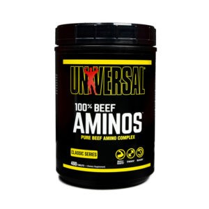 beefaminos 300x300 1 - protéine Tunisie - 100% BEEF AMINOS 200 tabs –UNIVERSAL NUTRITION