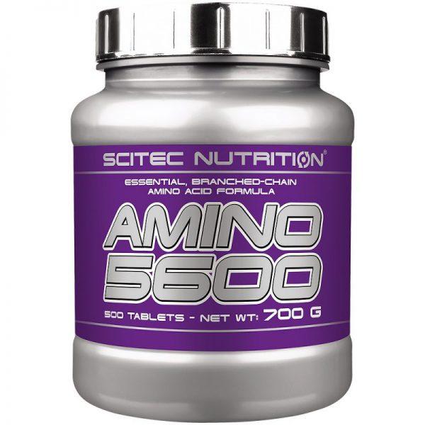AMINO 5600 – 500 TABS – SCITEC NUTRITION - protéine Tunisie - AMINO 5600 500 tabs –SCITEC NUTRITION