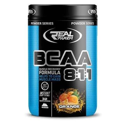 BCAA – 400G – REAL PHARM - protéine Tunisie - BCAA 8:1:1  400 g –REAL PHARM