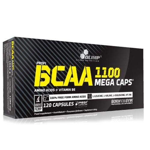 BCAA 1100 MEGA – 120 CAPS – OLIMP NUTRITION - protéine Tunisie - BCAA 1100 MEGA  120 caps –OLIMP NUTRITION