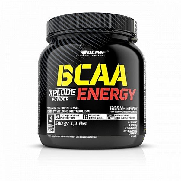 BCAA XPLODE ENERGY – 500 G – OLIMP NUTRITION - protéine Tunisie - BCAA XPLODE ENERGY  500 g –OLIMP NUTRITION