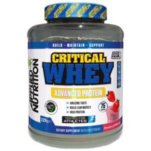 CRITICAL WHEY – 2.27 KG – APPLIED NUTRITION - protéine Tunisie - CRITICAL WHEY 2.27 kg –APPLIED NUTRITION