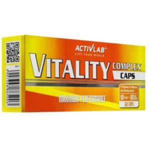 Complexe Vitalite 60 tabs Activlab - protéine Tunisie - COMPLEXE VITALITE   60 tabs -ACTIVLAB