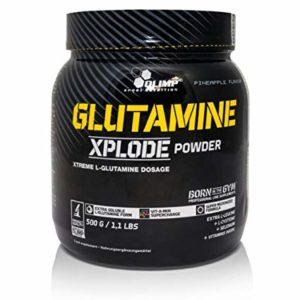 GLUTAMINE XPLODE – 500 G – OLIMP NUTRITION - protéine Tunisie - GLUTAMINE XPLODE  500 g –OLIMP NUTRITION