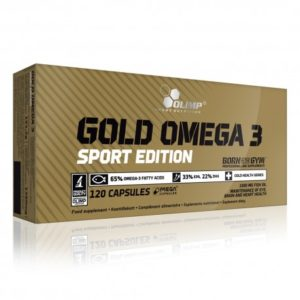GOLD OMEGA 3 SPORT EDITION – 120 CAPS – OLIMP NUTRITION - protéine Tunisie - GOLD OMEGA 3 SPORT EDITION  120 caps –OLIMP NUTRITION