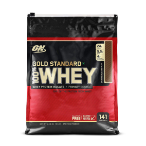 GOLD STANDARD 100 WHEY – 45 KG – OPTIMUM NUTRITION - protéine Tunisie - GOLD STANDARD 100% WHEY 4,5 kg –OPTIMUM NUTRITION