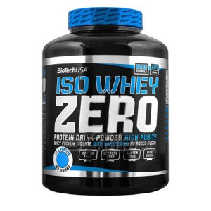 Iso Whey Zero Native – 2.272 kg – BIOTECH USA - protéine Tunisie - ISO WHEY ZERO NATIVE 2.272 kg –BIOTECH USA
