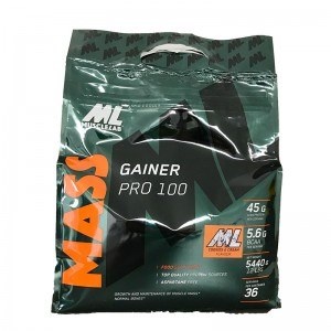 MASS GAINER PRO 100 5.4 KG – MUSCLE LAB - protéine Tunisie - MASS GAINER PRO 100 5,4 kg – MUSCLE LAB