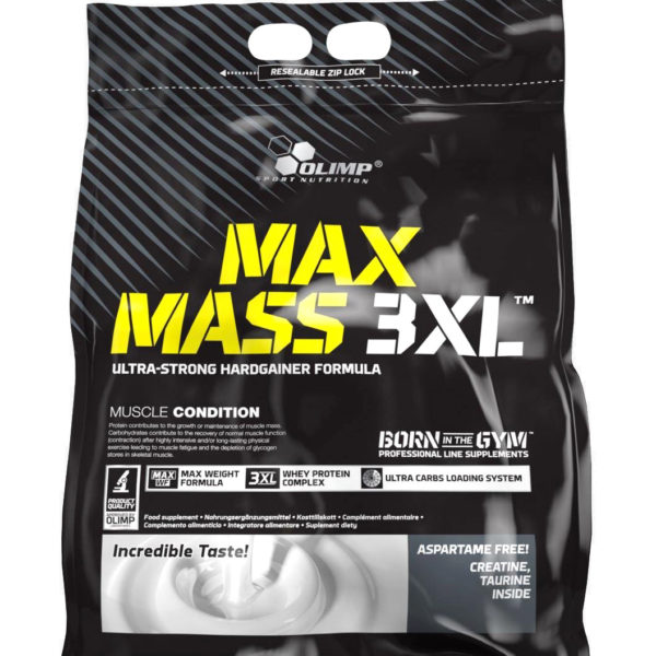 MAX MASS 3XL – 6KG OLIMP NUTRITION - protéine Tunisie - MAX MASS 3XL 6 kg -OLIMP NUTRITION