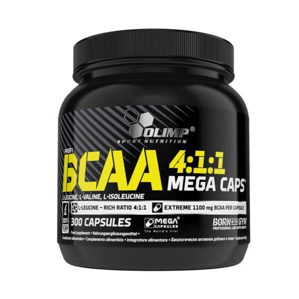 MEGA CAPS 300 CAPS - protéine Tunisie - BCAA 4:1:1 MEGA CAPS  300 caps -OLIMP NUTRITION