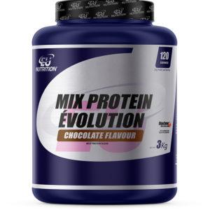 MIX PROTEIN EVOLUTION 3KG – EU NUTRITION - protéine Tunisie - MIX PROTEIN EVOLUTION 3kg –EU NUTRITION