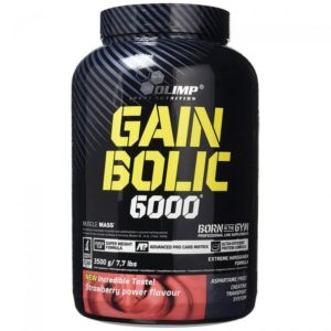 Mass Gainer GAIN BOLIC 6000 – 35 KG – OLIMP NUTRITION - protéine Tunisie - GAIN BOLIC 6000 3,5 kg – OLIMP NUTRITION