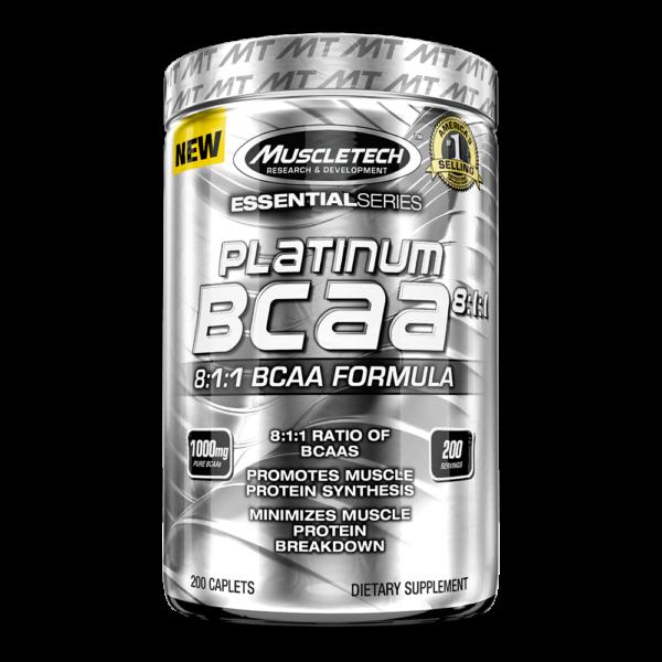 Muscletech Platinum BCAA Caplets 1024x1024 600x600 1 - protéine Tunisie - PLATINUM BCAA 8:1:1  200 caps –MUSCLETECH