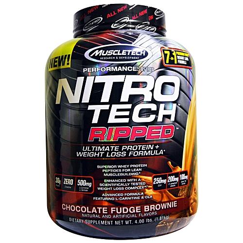 NITRO TECH RIPPED – 18 KG – MUSCLETECH - protéine Tunisie - NITRO TECH RIPPED 1,8 kg –MUSCLETECH
