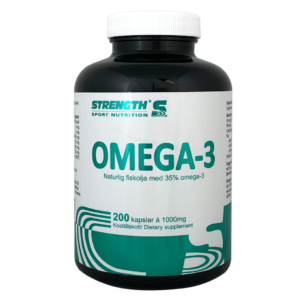 OMEGA 3 200 CAPS STRENGTH - protéine Tunisie - OMEGA 3  200 caps -STRENGTH