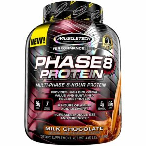 PHASE 8 – 19 KG – MUSCLETECH - protéine Tunisie - PHASE 8 1,9 kg –MUSCLETECH