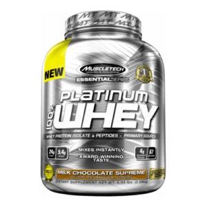 PLATINUM 100 WHEY – 22 KG – MUSCLETECH - protéine Tunisie - PLATINUM 100% WHEY 2,2 kg –MUSCLETECH