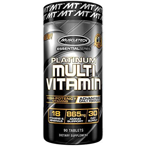 PLATINUM MULTIVITAMIN – 90 CAPS – MUSCLETECH - protéine Tunisie - PLATINUM MULTIVITAMIN  90 caps –MUSCLETECH