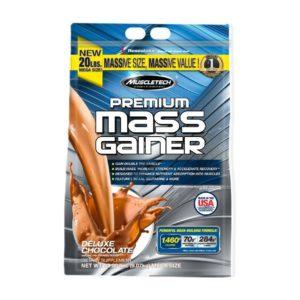 PREMIUM MASS GAINER – 91 KG – MUSCLETECH - protéine Tunisie - PREMIUM MASS GAINER 9,1 kg –MUSCLETECH