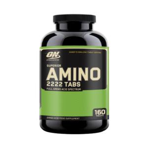 SUPERIOR AMINO 2222 – 160 CAPS – OPTIMUM NUTRITION - protéine Tunisie - SUPERIOR AMINO 2222  160 caps –OPTIMUM NUTRITION