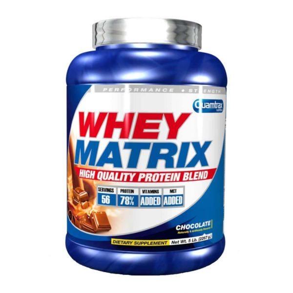 WHEY MATRIX – 22 KG QUAMTRAX NUTRITION - protéine Tunisie - WHEY MATRIX 2,2 kg -QUAMTRAX NUTRITION