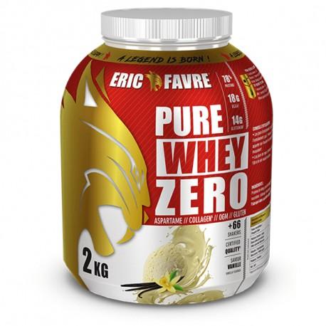 pure whey zero - protéine Tunisie - PURE WHEY ZERO 2 kg -ERIC FAVRE