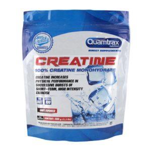 120 - protéine Tunisie - CRÉATINE 100% MONOHYDRATE 500g -Quamtrax