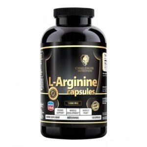 122 - protéine Tunisie - L-ARGININE 120 caps –Challenger Nutrition