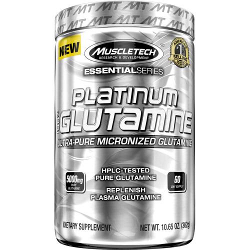 270 - protéine Tunisie - PLATINUM 100% GLUTAMINE  302 g –MUSCLETECH