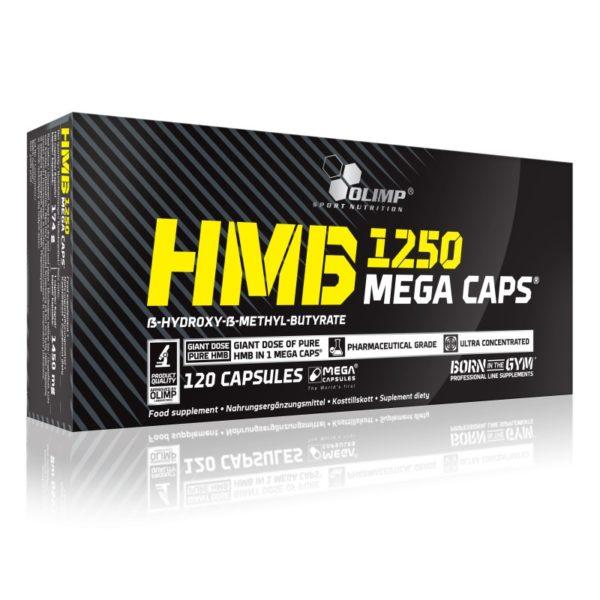 49 - protéine Tunisie - HMB 1250 MEGA CAPS 120 CAPS –OLIMP NUTRITION
