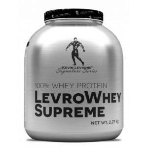 73 - protéine Tunisie - Levro Whey Supreme 2270g -KEVIN LEVRONE