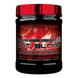 8 - protéine Tunisie - HOT BLOOD 3.0 300 g –SCITEC NUTRITION