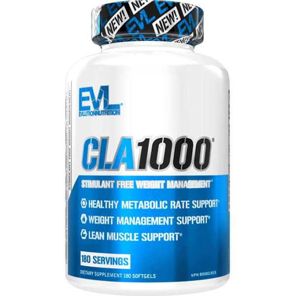 CLA-1000-90-caps--Evlution-Nutrition