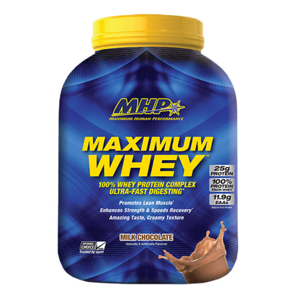 MAXIMUM WHEY MHP - protéine Tunisie - Maximum whey 2.3kg -MHP