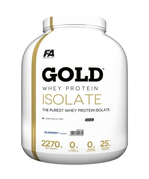 FA Gold 1024x 1 - protéine Tunisie - GOLD WHEY PROTEIN ISOLATE - 2,27Kg - FA Nutrition