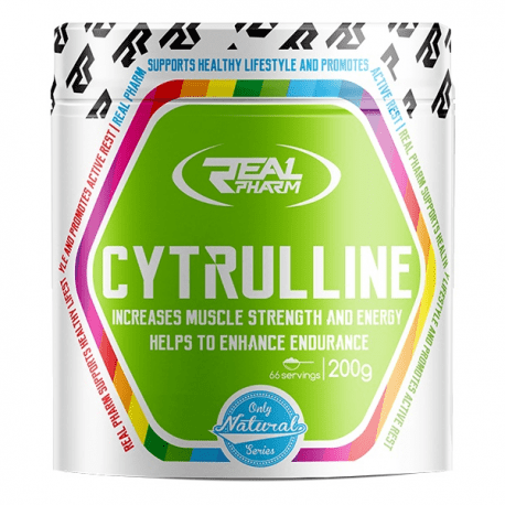 real pharm citruline 200g - protéine Tunisie - Cytrulline 200g - 66 servings - Real Pharm
