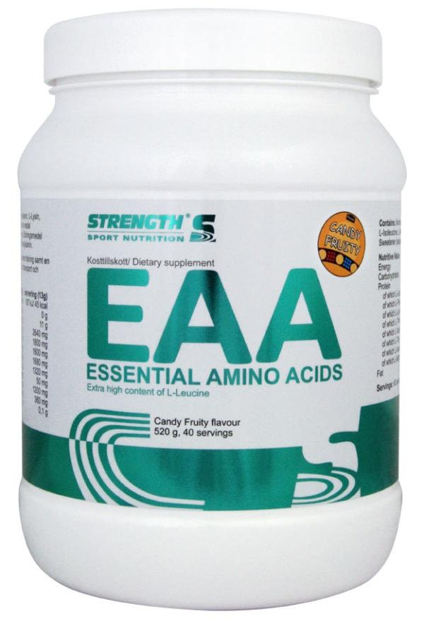 EAA Candy Fruity1 - protéine Tunisie - EAA - 520 g Strength Sport Nutrition